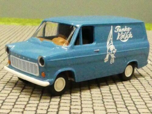 1//87 Brekina Ford Transit recuadro IIB Funke Kölsch colección Reinhardt