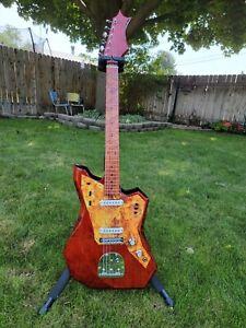 """Boutique DKen Guitars Jaguar Type Offset 24"""" scale"""