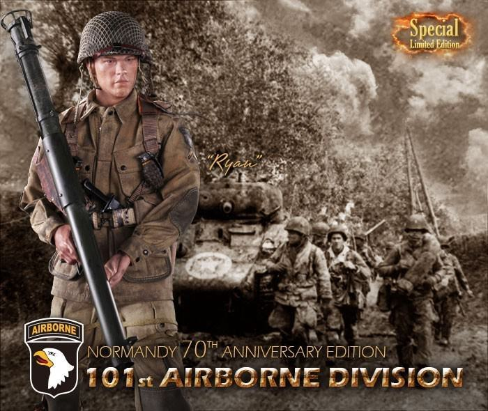 DID LIMITED EDITION 101st Airborne Saving Private Ryan 1 6 Action Figure