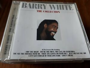 BARRY-WHITE-THE-COLLECTION-CD-ALBUM-1999