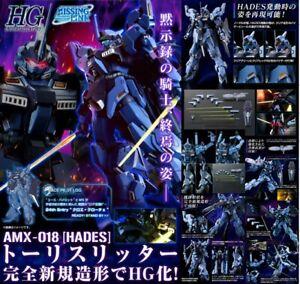 P-BANDAI HGUC 1//144 HADES Todesritter Plastic Model Kit Gundam AMX-018
