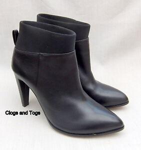40 para Clarks 6 nuevos negro de 5 cuero Botines Azizi mujer talla Posey 7qS6aHxW