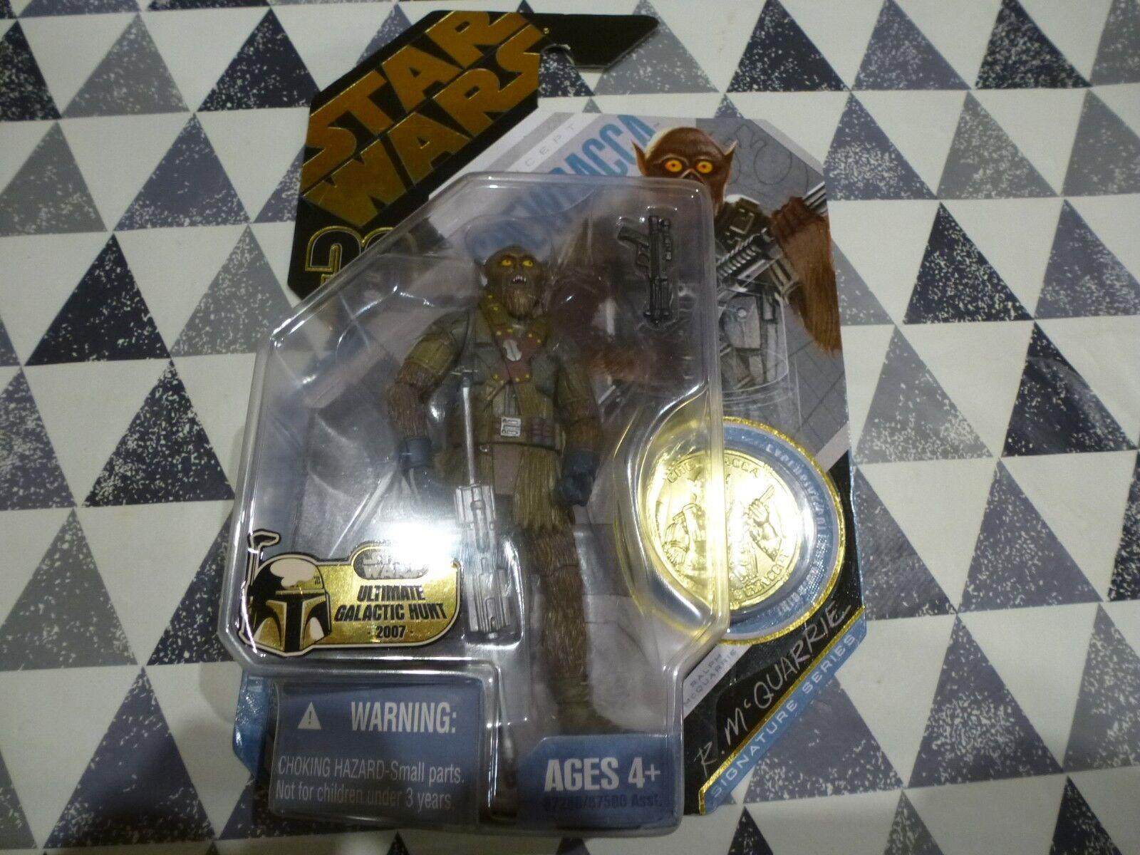 * NUOVO * Star Wars 30th ANNIVERSARIO  21 concetto Chewbecca MONETA D'ORO RARO