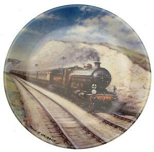 Davenport-Southern-Belle-Paul-Gribble-Great-Steam-Trains-Train-Plate