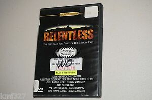Relentless: The Struggle for Peace in the Middle East ...