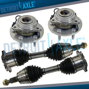 Details about Front CV Axle Shaft Wheel Hub & Bearing Assembly Escalade  Avalanche 1500 Yukon