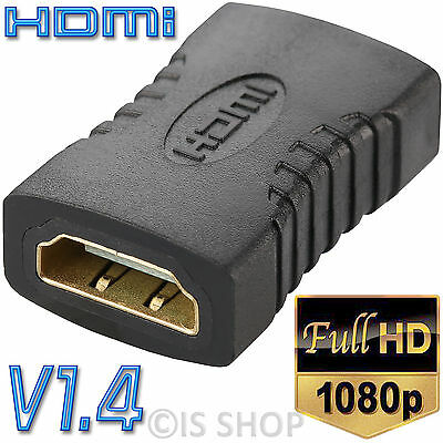 HDMI Female To Female Joiner Connector Coupler Adapter Extender For PC Laptop PS