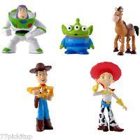 Toy Story Buzz Woody Cake Decoration Set - Topper 5pcs Figures & Birthday