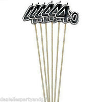40th Birthday Decorative Pick Candles (6 Pieces) - 176053