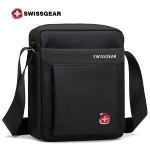 SwissGear Men/'s Tablet Shoulder Bag Messenger Bag sling bag Business Work bag