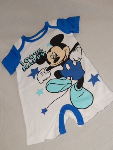 NEW Mickey Mouse Disney Clubhouse Baby Creeper Outfit T Shirt Infant 3//6 Months