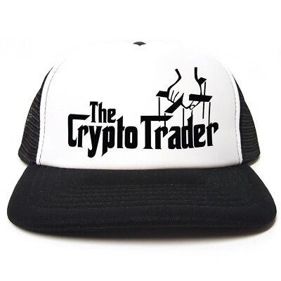 Retro Trucker Hat Crypto Centre Of The Universe cryptocurrency bitcoin BTC