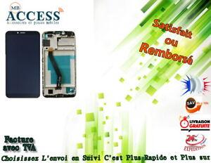 VITRE-TACTILE-ECRAN-LCD-FRAME-pour-HUAWEI-HONOR-7A-NOIR-outils
