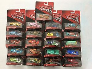 Rare Stock New Disney Pixar Cars 3 Diecast Vehicle 1 55 Lots Of