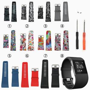 Remplacement-Silicone-Bracelet-Watch-Band-Strap-Bracelet-pour-FitBit-Surge-watch