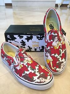 8785143ae6f917 Image is loading Authentic-Disney-Princess-Belle-Vans-Youth-Size-4