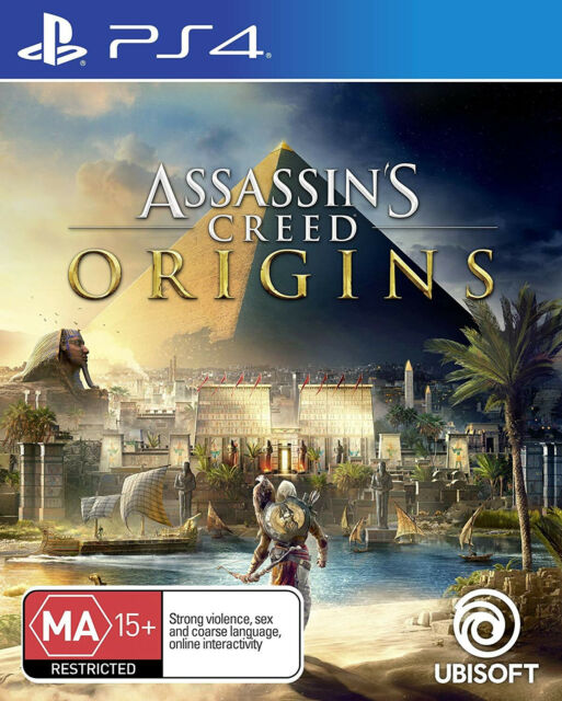 Assassins Creed Origins Playstation 4 PS4 BRAND NEW FAST FREE POSTAGE
