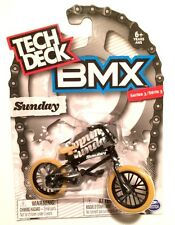 New 2017 Tech Deck BMX FINGER BIKES Series 3 SUNDAY Flick Tricks Black Tan