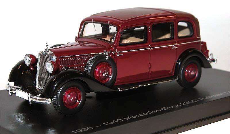 Esval Models 1936-1940 Mercedes-Benz 260D Pullman Landaulet closed red 1 43