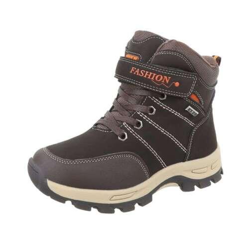 Kinder Schuhe winterschuhe 19- winterstiefel Jungen Mädchen Schuhe Neu 349D