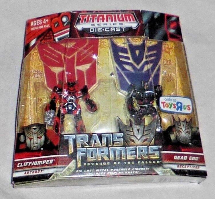 Hasbro Transformers Titanium Series Cliffjumper Dead End Toys R Us Exclusive New