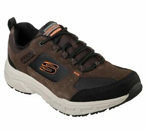 Skechers-Extra-Wide-Brown-Shoes-Men-Memory-Foam-Sport-Walk-Casual-Sneaker-51893