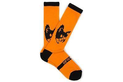 Odd Future Golf Wang Orange Cat Socks