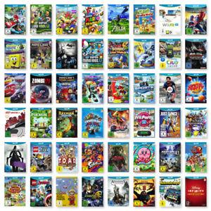 Nintendo-Wii-U-Spiele-Wahl-Action-Sport-Geschicklichkeit-Party