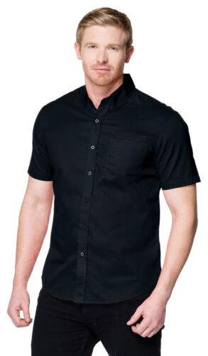 Tri-Mountain Men Big /& Tall Pocket Short Sleeve Button Down Collar Shirt W700SS