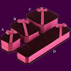 Ring Earring New Presentation Box Velvet Gift Jewellery Necklace Bracelet Box