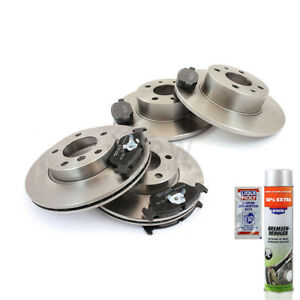 Brake-Discs-Brake-Pads-Front-Rear-for-Vauxhall-Movano-Pickup-Chassis
