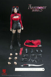 "STAR MAN MS-005 1//6 Scale Female Avenger 12/"" Collectible Action Figure Machete"
