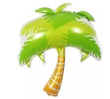 "39"" Palm tree foil balloon 100cm x 85cm 39"" x 33"" Luau Hawaii"