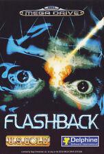 ## SEGA Mega Drive - Flashback: The Quest for Identity - NEUWERTIG / MD Spiel ##