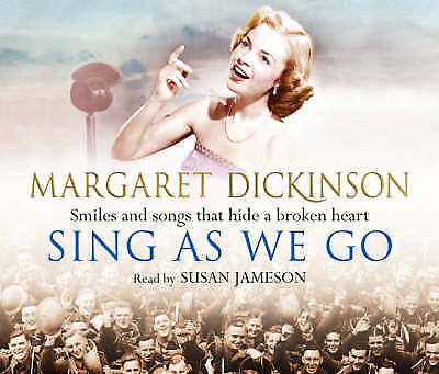Sing as We Go by Margaret Dickinson (CD-Audio, 2008) read by Susan Jameson
