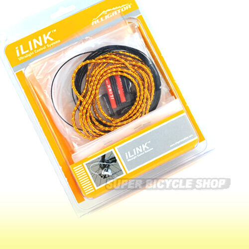 ALLIGATOR I-Link Cable Set para cambio 4mm, oro