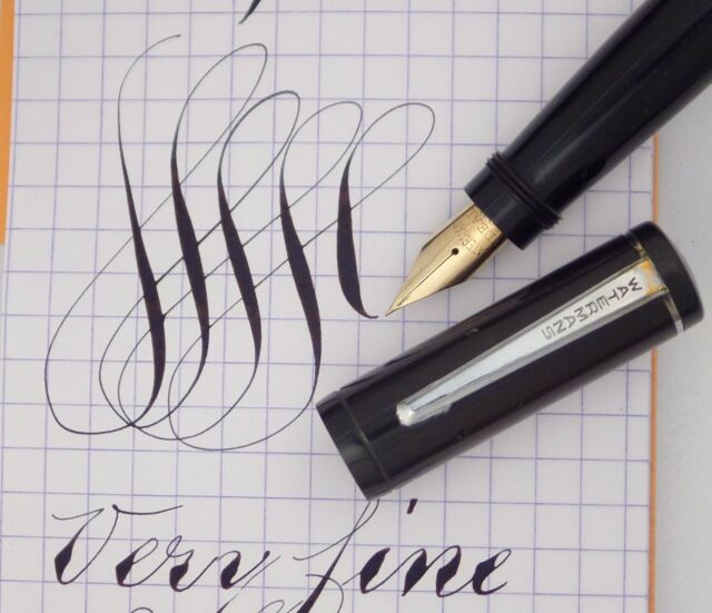 This ink is beautiful, and demonstrates why flex nib pens are so wonderful.  | Flex Writing | Pinterest | Fountain pens, Fountain and Calligraphy