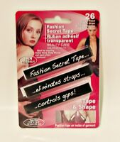 26 Strips Fashion Tape Double Sided Clothing Tape Avoid Fashion Faux Pas