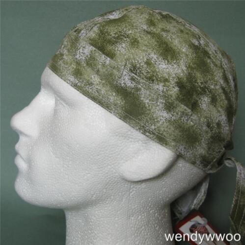 dou du ne chapeau chiffon Zandanna capuchon vert soleil bandana montés Acide d/'olive laver bandana