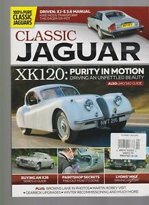 Classic Jaguar Uk Magazine Issue 4 2017 Ebay