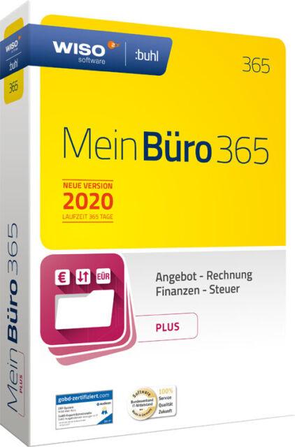 WISO Mein Büro 2020 - 365 - Plus - CD und Handbuch
