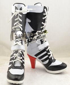 0c867d24d2bc New Arraval Batman DC Comic Suicide Squad Harley Quinn Cosplay Shoes ...