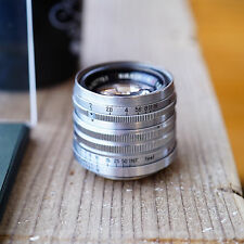 [Exc] Nippon Kogaku Nikon  Nikkor-H.C 5cm 50mm f/2 Leica Screw Mount LTM/M39