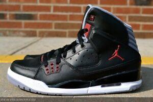 Nike-Jordan-Sc-1-Basketball-Sneaker-538698-012-Black-Gym-Red-Taille-4-5-DEADSTOCK