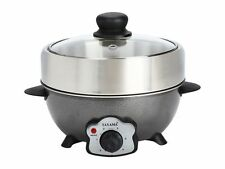 Tayama Personal Electric Hot Pot 2 in 1 Grill and/or Shabu Pot Model TRMC-22