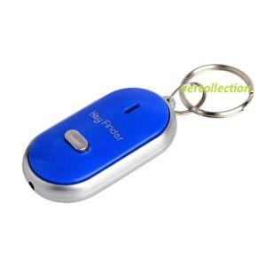 Porte-cles-siffleur-Anti-perte-Alarme-Localisateur-Key-Finder-Couleur-BLEU