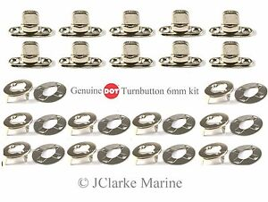 DOT-Turnbutton-Common-Sense-fastener-kit-eyelets-bases-boat-canopy-cover-bimini