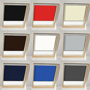 skylight blind for ggl u04 7 804 velux blackout thermal roller roof blind ebay. Black Bedroom Furniture Sets. Home Design Ideas