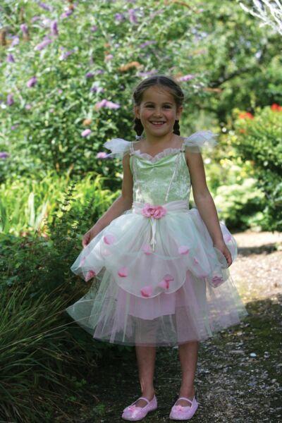 ' Apple Blossom Fairy' Verde Rosa Costume Travestimento Fairy Libro Settimana Ad Ogni Costo