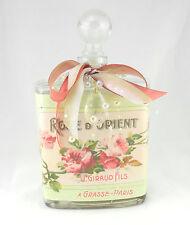 Pink Lamp, Bathroom Night Light, Paris Perfume Vanity Lamp, Glass Bottle #32